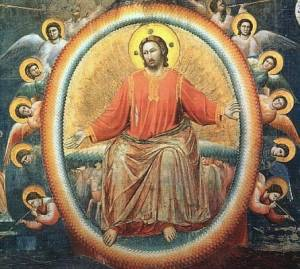 Feast of Christ the King : Christ seated in majesty