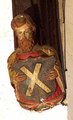 St Andrew, Apostle (saltire cross)