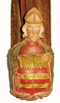An unknown bishop (mitre)
