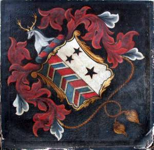 Memorial Hatchment - Say Family - 18th Century