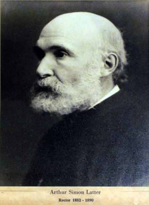 The Revd Arthur Simon Latter 1882 - 1890