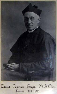 Fr. Edward Pountney Gough 1908 - 1913