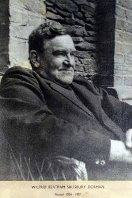The Revd Wilfrid Bertram Salisbury Dorman 1924 - 1957