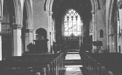 St Edmund's, c.1890.  Note:  details of the 1872-3 refurbishment:
