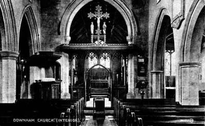 St Edmund's, c.1914.  Note:  details of the 1912-13 refurbishment: 