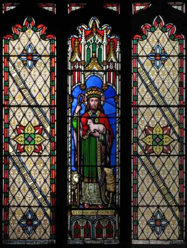 Lady Chapel - Jesus depicted as Good Shepherd