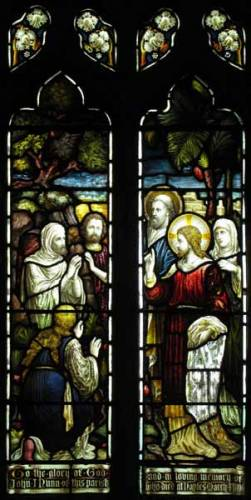 South Aisle - The raising of Lazarus