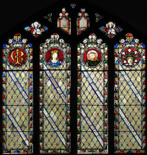 Lady Chapel - The Magnificat - the Song of Mary