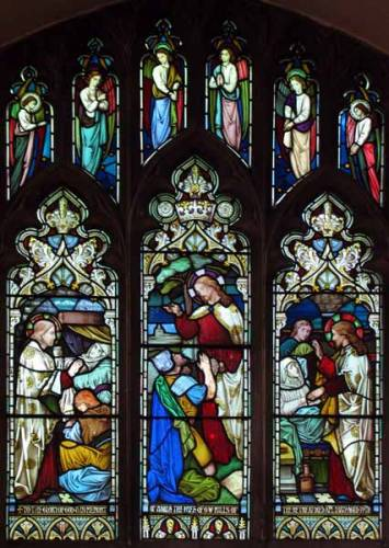 North Aisle - The Centurion's faith; & The healing of Peter's Mother-in-Law
